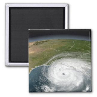 Hurricane Rita 2 2 Inch Square Magnet