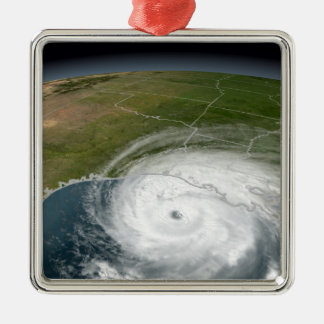 Hurricane Rita 2 Metal Ornament