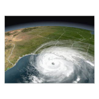Hurricane Rita 2 Photo Print