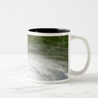 Hurricane Rita 2 Two-Tone Coffee Mug