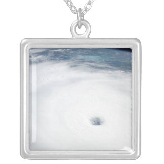 Hurricane Rita 3 Silver Plated Necklace