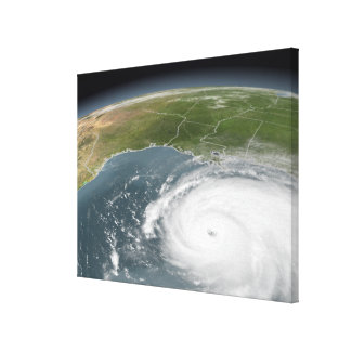 Hurricane Rita Canvas Print