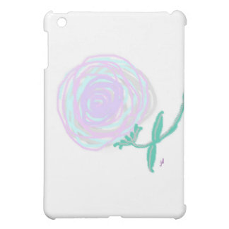 Hurricane Rose Smudged Pastel Print Case For The iPad Mini