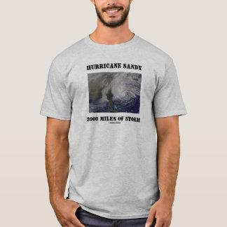 Hurricane Sandy 2000 Miles Of Storm T-Shirt