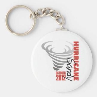 Hurricane Sandy 2012 Keychain