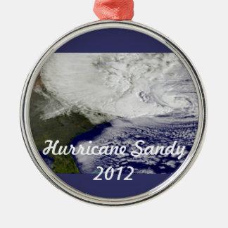 Hurricane Sandy 2012 Metal Ornament