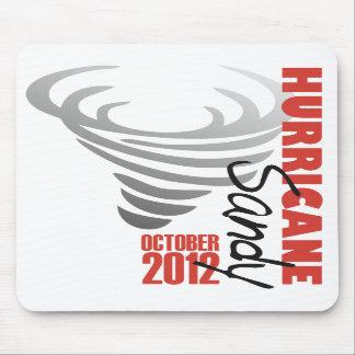 Hurricane Sandy 2012 Mouse Pad