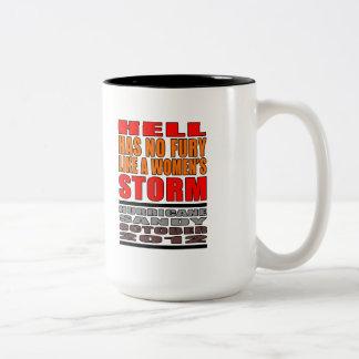 Hurricane Sandy 2012 Two-Tone Coffee Mug