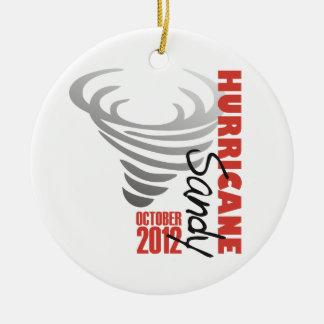 Hurricane Sandy 2012 Christmas Ornament