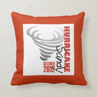 Hurricane Sandy 2012 Throw Pillow