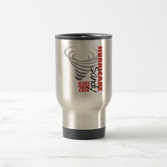 Hurricane Sandy 2012 Travel Mug