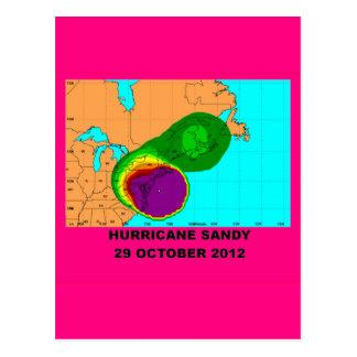 Hurricane Sandy 29 October 2012 Postcard