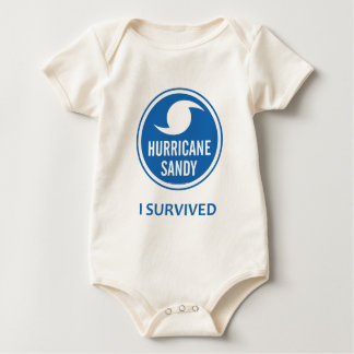 Hurricane Sandy Baby Bodysuit