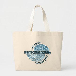 Hurricane Sandy Canvas Bags