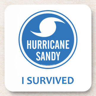 Hurricane Sandy Beverage Coaster