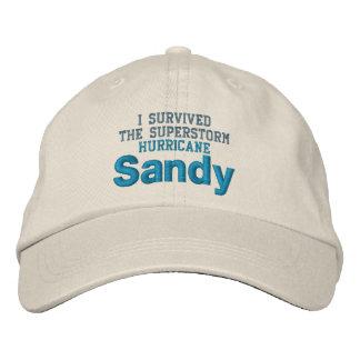 HURRICANE SANDY cap