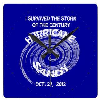 Hurricane Sandy Clock