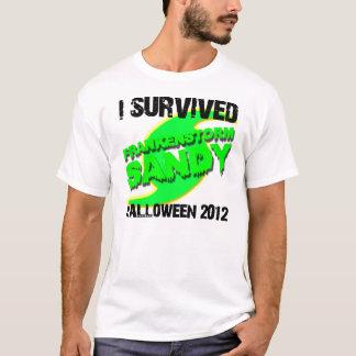 Hurricane Sandy Frankenstorm Halloween 2012 T-Shirt
