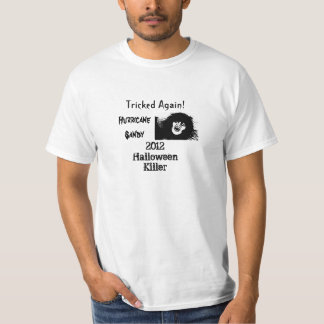 Hurricane Sandy Halloween T-Shirt