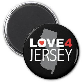 Hurricane Sandy - Love 4 Jersey 2 Inch Round Magnet