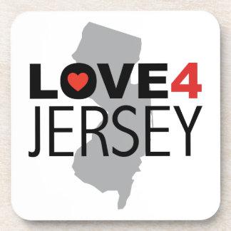 Hurricane Sandy - Love 4 Jersey Coaster