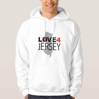 Hurricane Sandy - Love 4 Jersey Hoodie