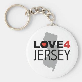 Hurricane Sandy - Love 4 Jersey Keychain