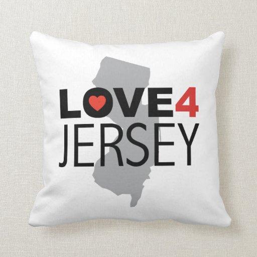Hurricane Sandy - Love 4 Jersey Throw Pillow