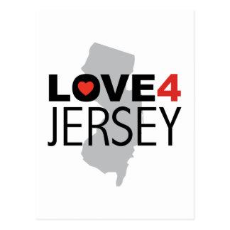 Hurricane Sandy - Love 4 Jersey Postcard