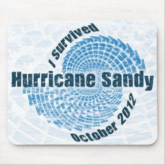 Hurricane Sandy Mouse Pad