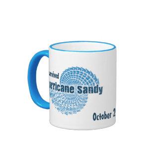 Hurricane Sandy Ringer Coffee Mug