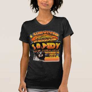 Hurricane Sandy, New York City Tee Shirts