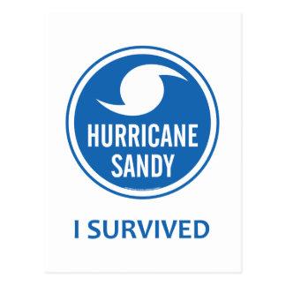 Hurricane Sandy Postcard