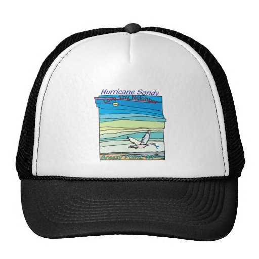 Hurricane Sandy Relief Breezy Point NY Trucker Hat