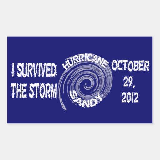 Hurricane Sandy Sticker