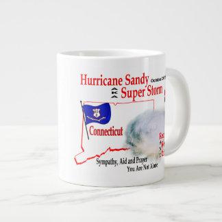 Hurricane Sandy Super Storm Regroup Repair Rebuild Large Coffee Mug