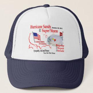 Hurricane Sandy Super Storm Regroup Repair Rebuild Trucker Hat