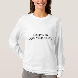 HURRICANE SANDY SURVIVAL WOMEN´S T-SHIRT
