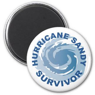 Hurricane Sandy Survivor 2012 2 Inch Round Magnet