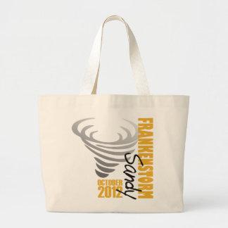 Hurricane Sandy Survivor 2012 Large Tote Bag