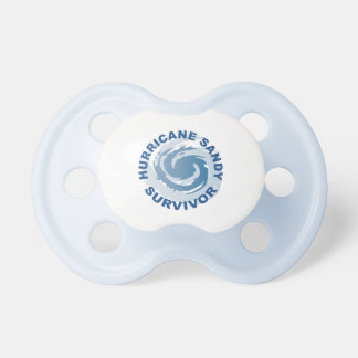 Hurricane Sandy Survivor 2012 Pacifier
