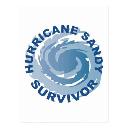 Hurricane Sandy Survivor 2012 Postcard
