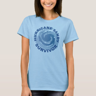 Hurricane Sandy Survivor 2012 T-Shirt