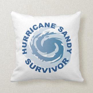 Hurricane Sandy Survivor 2012 Throw Pillow