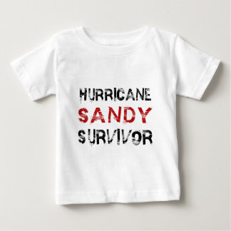 Hurricane Sandy Survivor Baby T-Shirt