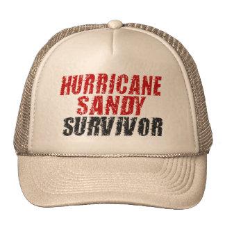 Hurricane Sandy Survivor Distressed Trucker Hat