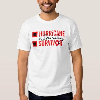 Hurricane Sandy Survivor Flag T-Shirt 5