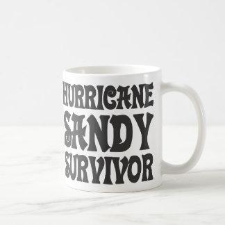 Hurricane Sandy Survivor. Classic White Coffee Mug