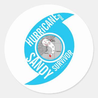 Hurricane Sandy Survivor Sticker 2