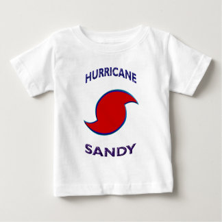 Hurricane Sandy Symbol Baby T-Shirt